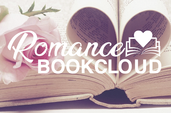 book with heart and text romance book club